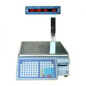 30kg Digital Barcode Scale with Customer Display