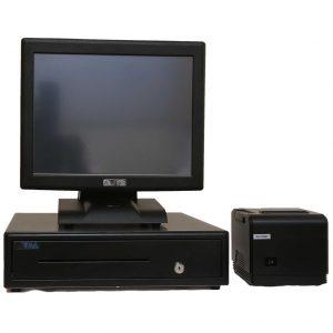 Artis POS Terminal bundle for Restaurant (POS Terminal, 80mm Printer, Large Cash Drawer )