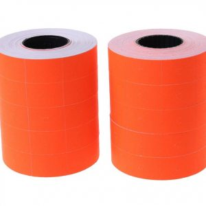Price tag label colored (100 Rolls)
